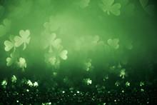 Green St Patricks Day Backgrou...