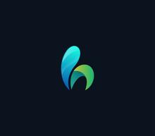Colorful Letter H Logo Design ...