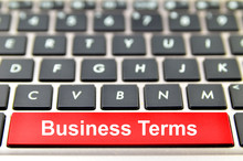 Business Terms Word On Compute...
