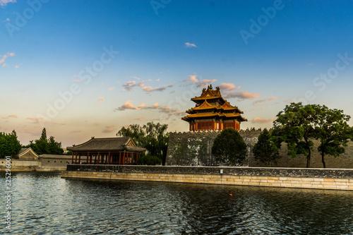 Scene of the Forbidden City in Beijing, China Lerretsbilde