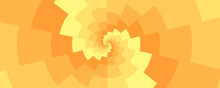 Twirl Yellow Zigzag Spiral Eff...