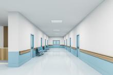 Perspective View Of Empty Hosp...