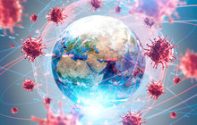 Global Virus And Disease Spread, Coronavirus