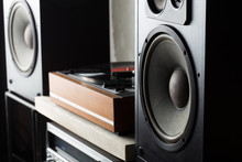 HiFi System With Turntable, Am...