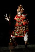 The Jauk Manis Dance. Balinese...