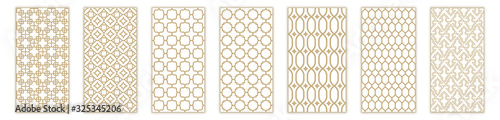 Photo Islamic seamless pattern with arabic and islamic ornament big set