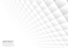 Abstract Geometric Square Patt...