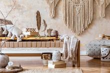 Stylish Oriental Living Room I...