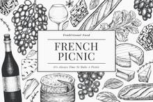 French Food Illustration Desig...
