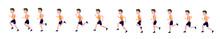 Running Man. Cycle Of Animatio...