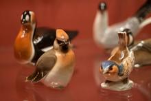 Porcelain Vintage Figures Of Forest Birds