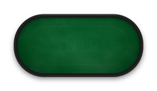 Poker Table Made Of Green Clot...