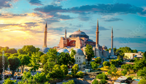 Stampa su Tela Beautiful Hagia Sophia