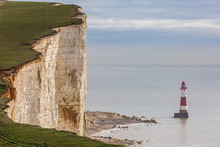 Looking Out At Beachy Head Lig...