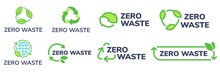 Zero Waste Labels. Green Eco F...