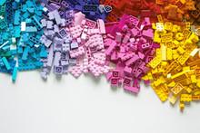 Pile Of Child's Building Block...