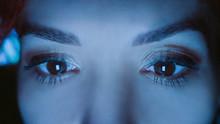 Close-up Of Beautiful Woman Ey...
