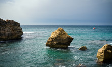 Turquoise Waters Of The Medite...
