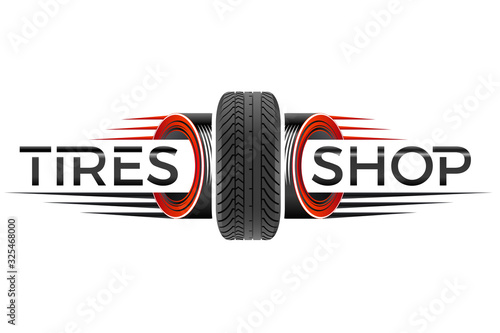 Valokuva Reifenhandel - Motorsport- / Firmen-Logo