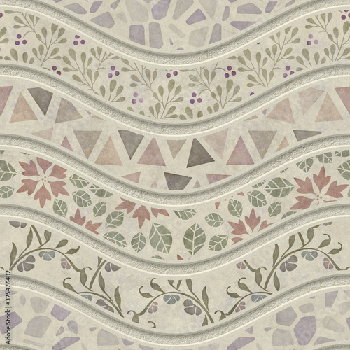rzezbic-fala-wzor-na-bezszwowej-teksturze-patchworku-kwiatach-i-rocznika-wzorze-tlo-3d-ilustracja