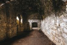 Inside Of Ruins Of Chortkiv Ca...