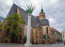 The Nikolai Church Or Nikolaik...