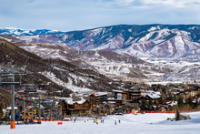 Panoramic View Of Snowmass Vil...