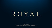 Royal, An Elegant Alphabet Fon...