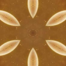 Abstract Fractal Kaleidoscope Pattern Texture For Wallpaper Or Tiles Floor