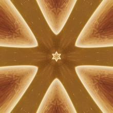 Abstract Fractal Kaleidoscope ...