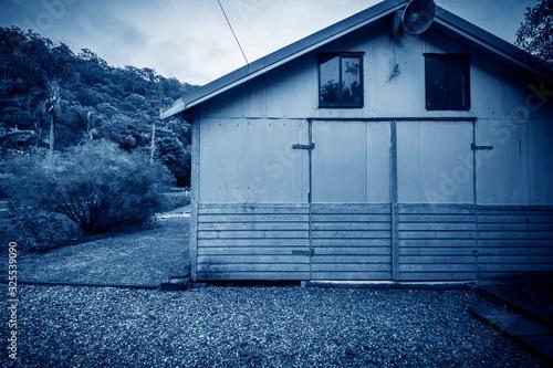 Obraz A simple building exterior door outside Sydney - fototapety do salonu