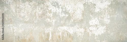 Fotografie, Tablou グレーの味わいのあるコンクリートの壁の背景テクスチャー
