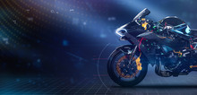 Modern Sports Motorcycle Techn...