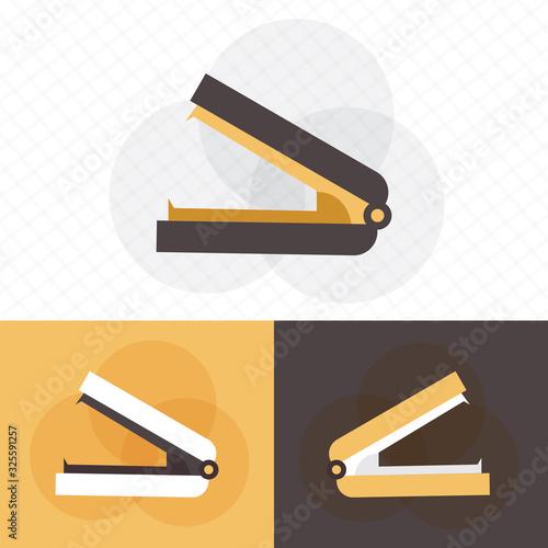 Stapler paper fastener flat vector icon Tapéta, Fotótapéta