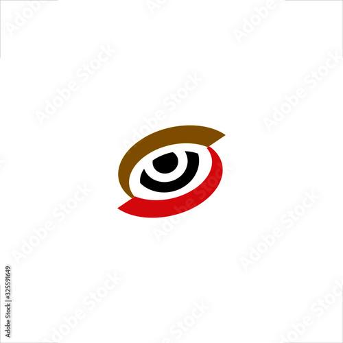 Fotografía Eye logo stare sharp look