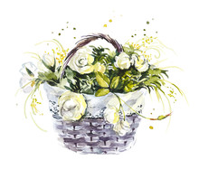 Pattern From White Rose. Weddi...