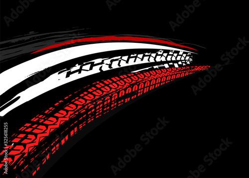 Fotografia Tire Poster Background