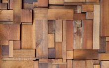Varnished Wooden Blocks And St...
