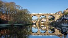 Knaresborough Railway Viaduct Yorkshire England