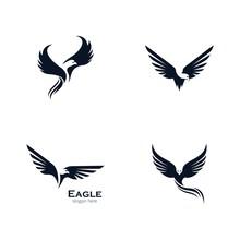 Eagle Vector Icon