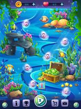 Fish World Vertical Level Seam...
