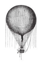 Old Air Balloon From 1893-1896...
