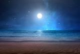 Fototapeta Fototapety z morzem do Twojej sypialni - Sandy beach with ocean views