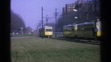 OHIO USA-1965: Transport Train...