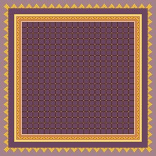 Square Pattern With Checkered ...
