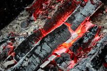 Hot Coals In Fire