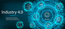 Industry 4.0 Infographic Conce...
