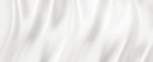 White Silk Background Texture....