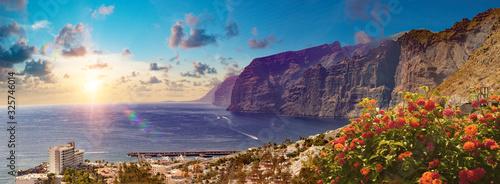 Fotografía Los Gigantes Cliff, Canary Islands, Tenerife, Spain