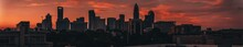 Charlotte North Carolina Sunset